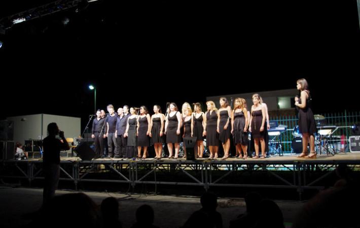 Concerto Voice Academy Choir a Sabaudia Luglio 2010