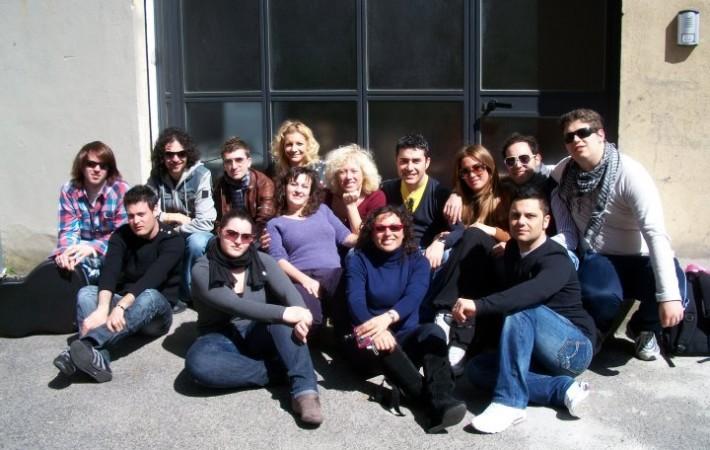 Allievi del Seminario di 1° Livello con Cinzia Spata 27-28 Marzo 2010, Voice Academy Latina