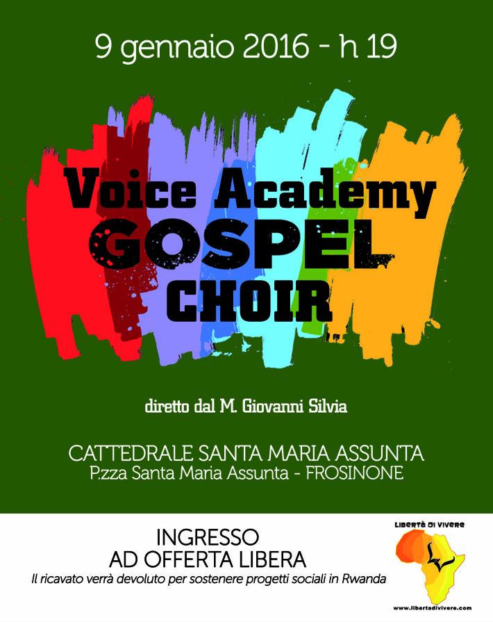 locandina gospel 2015 Frosinone